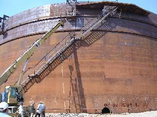Projects Of Aboveground Steel Tanks