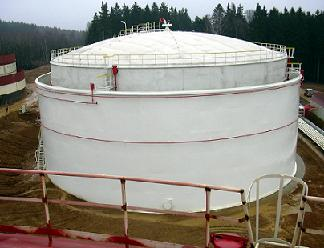 Steel Tanks With Double Shell